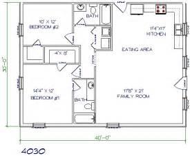 2 bed 2 bath floor plans 30 barndominium floor plans for different purpose