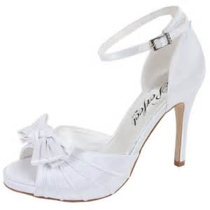 chaussure mariage blanche chaussure blanche ouverte mariage