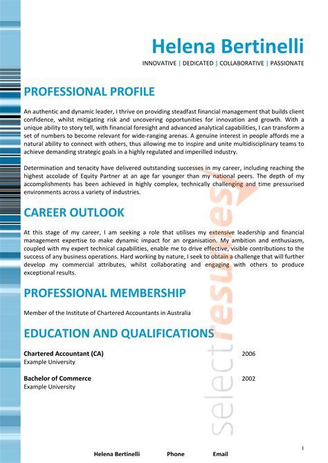 executive design  select resumes