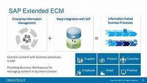 combining sap extended ecm and sap dms document With document management system ecm