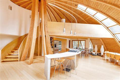 eco friendly rotating dome country retreat idesignarch interior design architecture