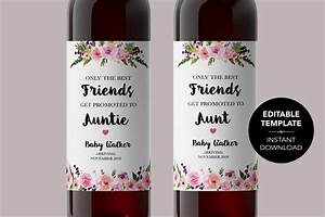 avery wine label templates - editable pregnancy announcement wine label template edit wine