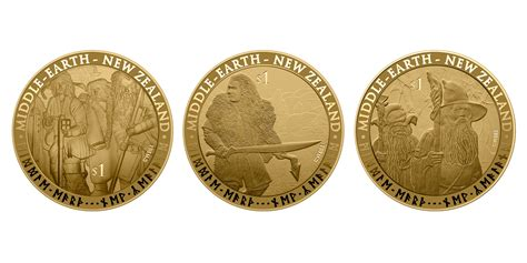 """New Zealand Post Releases """"hobbit"""" Stamps And Coins… Ian"""