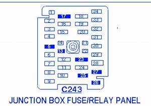 Ford F Block Circuit Breaker Diagram  U00bb Carfusebox