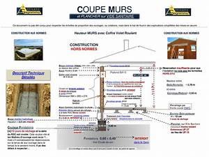 Temps De Sechage Chape : coupe murs et plancher sur vide sanitaire ppt video ~ Melissatoandfro.com Idées de Décoration