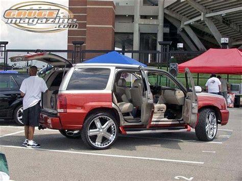 Dj Custom Modification Photo by Dj Liquid 2002 Cadillac Escalade Specs Photos