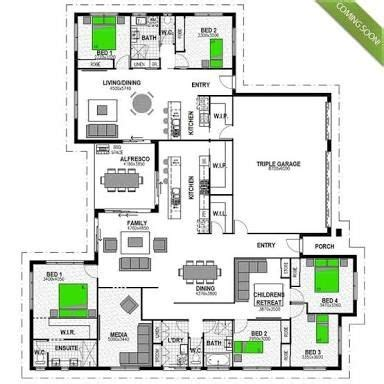 house plan  attached granny flat google search floor plans   family house plans