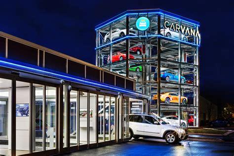 retail showroom design carvana introduces a robotic automotive vending machine