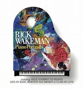 Jp U0026 39 S Music Blog  Cd Review  Musician Rick Wakeman Performs  U0026quot Piano Portraits U0026quot  Of Classic Hits