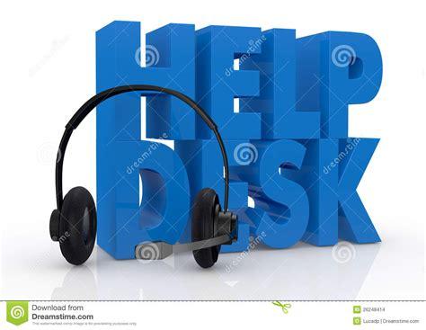 indeed help desk support concept of help desk service stock illustration image