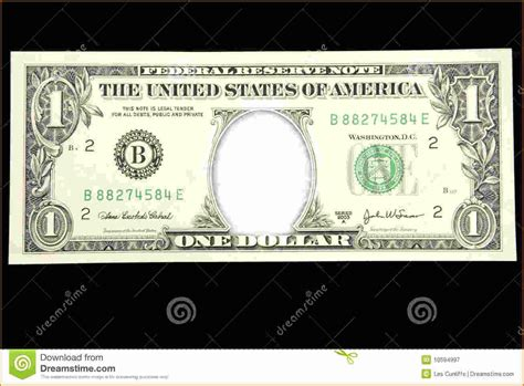 dollar template 7 blank dollar bill template invoice template