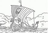 Viking Coloring Ship Pages Printable Colouring Printables Ships Longship Transportation Template Designlooter Sheets Sketch Drawings Popular Wuppsy 13kb 2080 sketch template