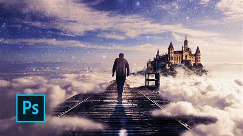 How To Make A Fantasy Photo Manipulation Walking In The