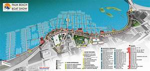 Overview Maps At Palm Beach International Boat Show 2016