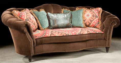 ikat settee ikat print sofa