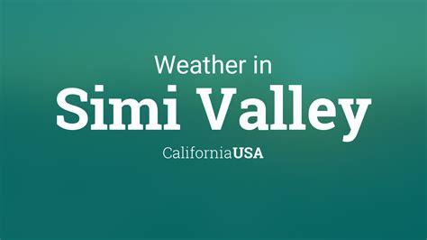 weather  simi valley california usa