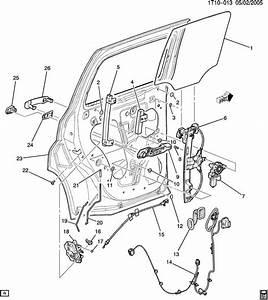 Chevrolet Hhr Harness  Body Wiring  Harness  R  D Dr Lk Dr Wrg - Lh