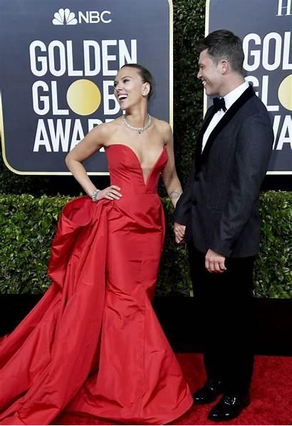 Golden Globe Scarlett Johansson Awards Globes Award