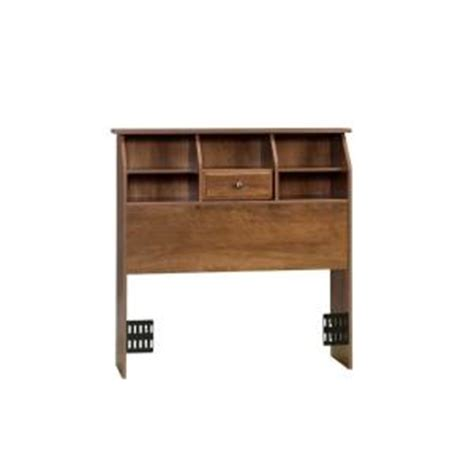 sauder shoal creek bookcase headboard sauder shoal creek collection oiled oak twin size bookcase
