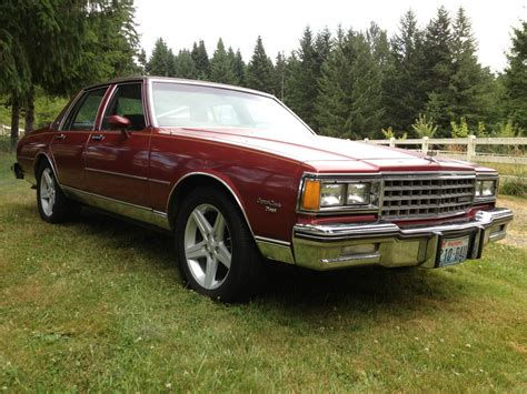 1981 Chevrolet Caprice Classic Sedan 4door 57l Diesel
