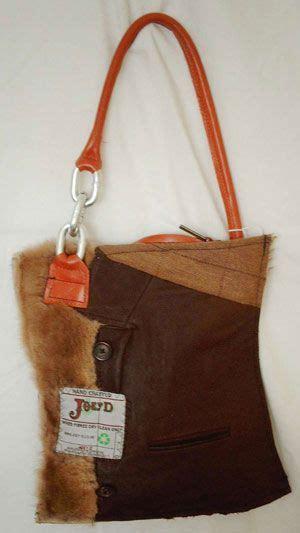 recycled harris tweed  leather bag  joey   edinburgh love  cloth tote bags bags