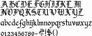 Callifonts - Old English Gothic style calligraphy fonts