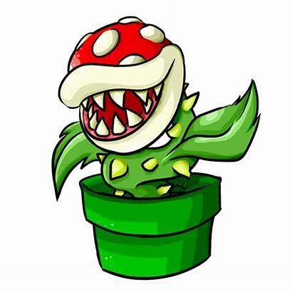 Mario Piranha Plant Clipart Transparent Pipe Flower