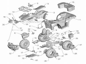 Power Wheels J5248 Parts List And Diagram   Ereplacementparts Com