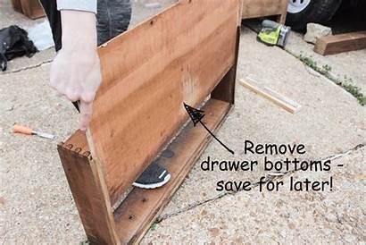Slides Dresser Drawer Installing Drawers Dressers Shadesofblueinteriors
