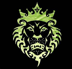 NIKE LEBRON JAMES LION LOGO T SHIRT BLACK VOLT NEW MENS ...