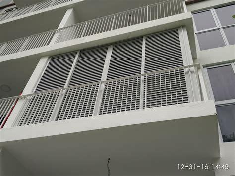 ecopolitan ec aluminium louver window  balcony
