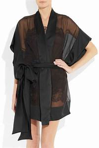 theme tamara silk mousseline robe With robe tamara
