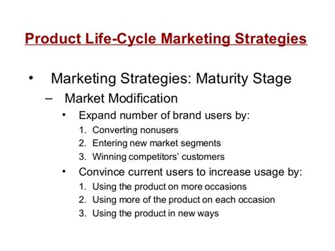 Modification To Product by 11 Plc Developing Marketing Strategy