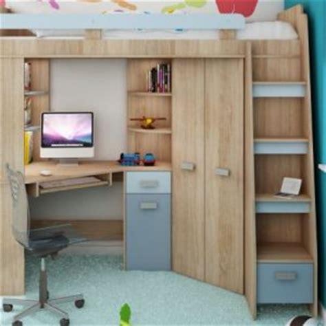 lit mezzanine armoire bureau lit mezzanine bureau armoire ado bureau idées de