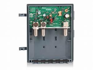 Kingray Mhw35f Wideband Vhf  Uhf F Type Masthead Amplifier