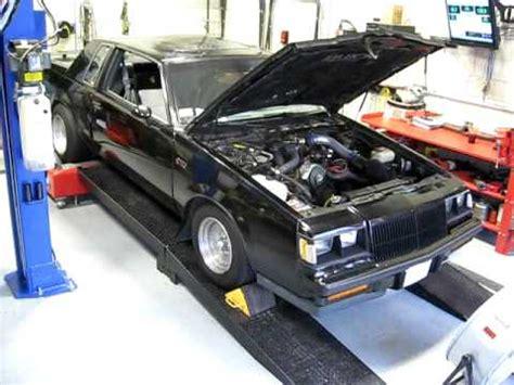 Grand V6 by 1985 Buick Grand National V6 Turbo Dyno Test