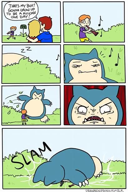 Pokemon Kanto Funny Comics Snorlax Memes Pit