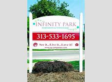 Infinity Park Apartments and Townhomes, Detroit MI Walk