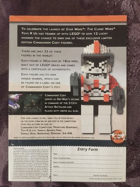 exclusive limited edition commander cody maxi figure