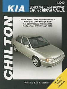 Kia Sephia  Spectra  U0026 Sportage Chilton Manual  1994
