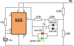 Simple Transistor Tester Circuit For Bipolar Transistors