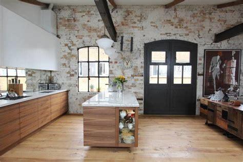 cuisines but signature brique et cuisine 15 modèles de murs en brique pour un