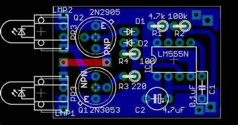 eagle pcb design turn your eagle schematic into a pcb 22 steps with pictures