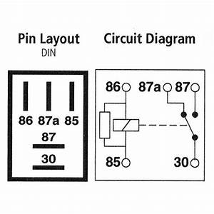 5 Pin Changeover Relay Wiring Diagram
