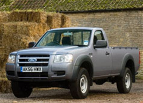 ford ranger tdci regular cab  tested january