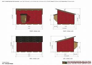 home garden plans: DH100 - Insulated Dog House Plans - Dog ...
