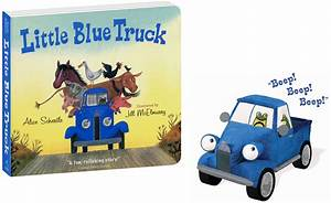 Little Blue Truck Toy Trucks & Book
