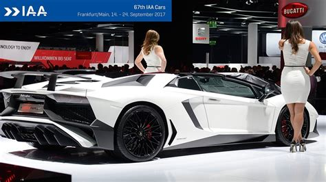 Top 10 Coolest Cars At Frankfurt Motor Show 2017 / All New