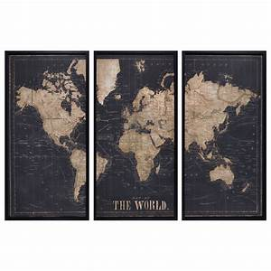 Triptyque Maison Du Monde : maison du monde carte du monde stopeads ~ Teatrodelosmanantiales.com Idées de Décoration