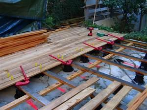 Lambourde Pour Terrasse Bois : cr er une terrasse en bois ~ Premium-room.com Idées de Décoration